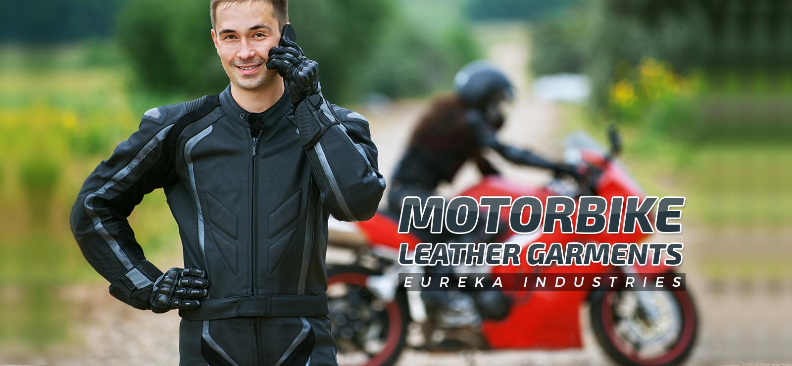 Motorbike Leather Garments-1